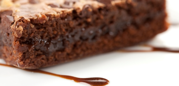 Baked Chicago's 10 Most Popular Chocolate Desserts Ever - bourbon bacon pecan brownies