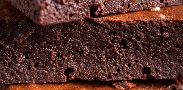 dark chocolate flourless brownies