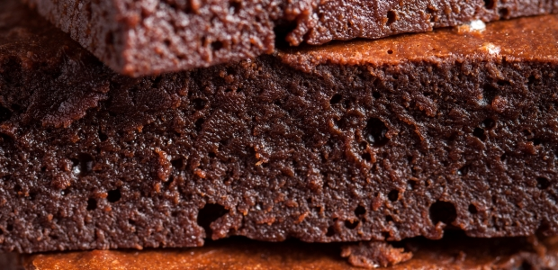 dark chocolate flourless brownies
