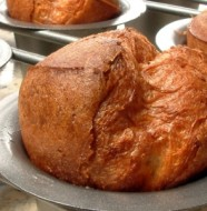 black pepper and bacon popovers