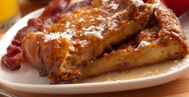 Honeycrisp Apple-Cinnamon Baked French Toast