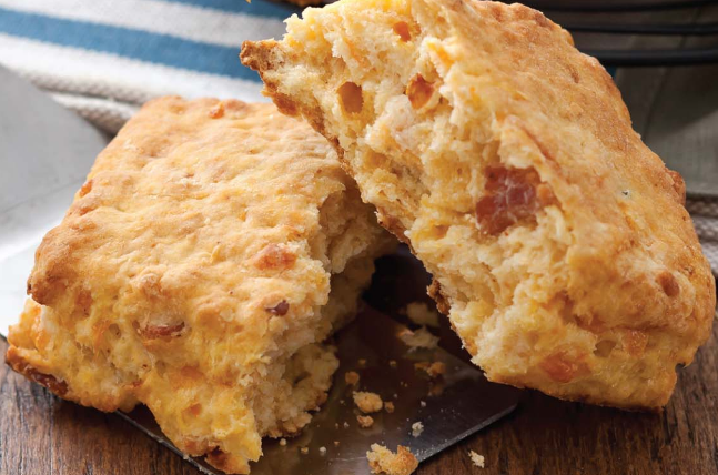 Sweet Potato-Bacon Biscuits | Baked Chicago