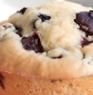 gluten-free blueberry coconut muffins