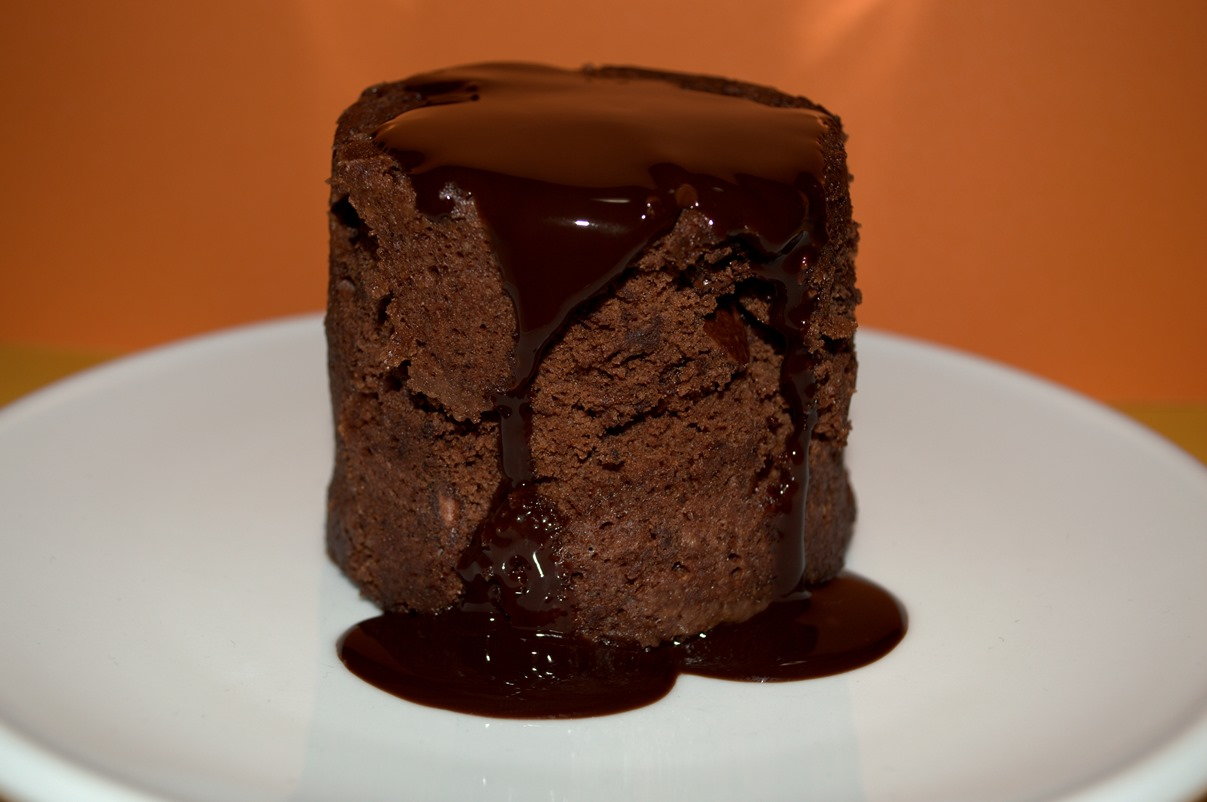 Baked Chicago's chocolate lava cake
