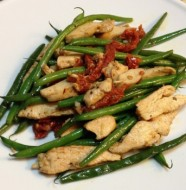 italian chicken french green bean stir fry