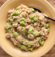 Ground Turkey, Edamame & Brown Rice One-Skillet Wonder