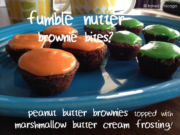 Fumble Nutter Brownie Bites 3