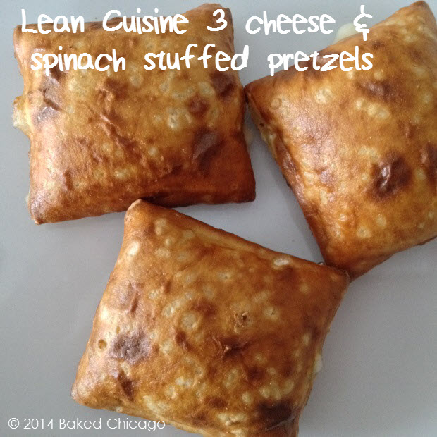 Lean Cuisine Culinary Collection 3 Cheese and Spinach Stuffed Pretzels