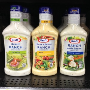 KRAFT dipping sauces at Walmart