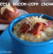 cheesy bacon-corn chowder