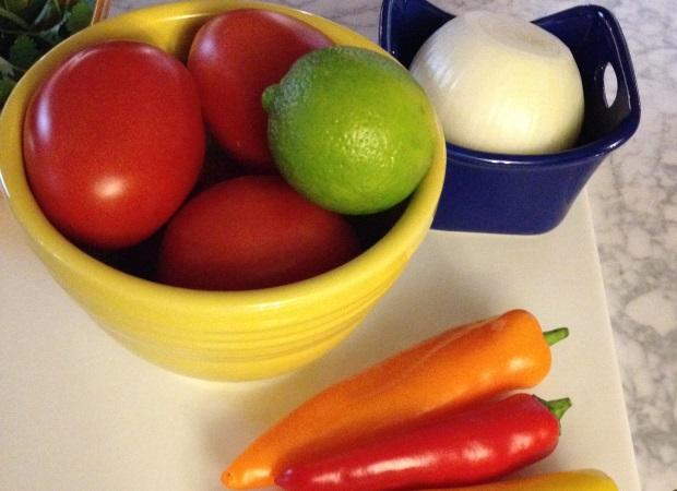 salsa fresca mise en place #shop