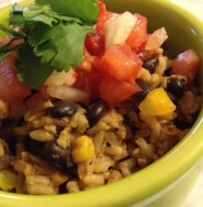 tex mex rice bowl #shop
