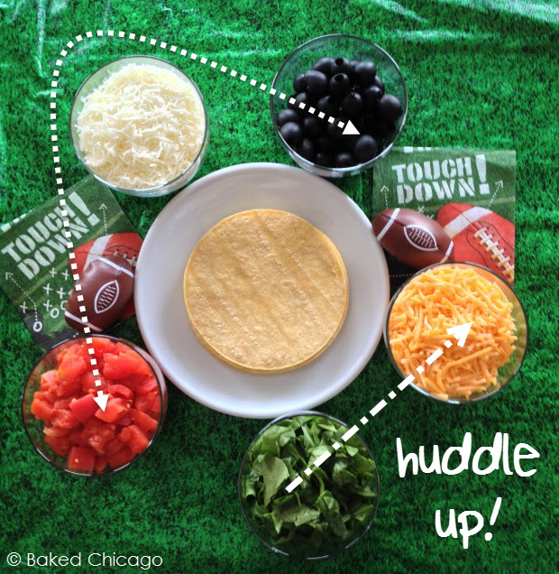 Huddle up with Tyson Any'tizers and KRAFT dipping sauces for a winning big game snack