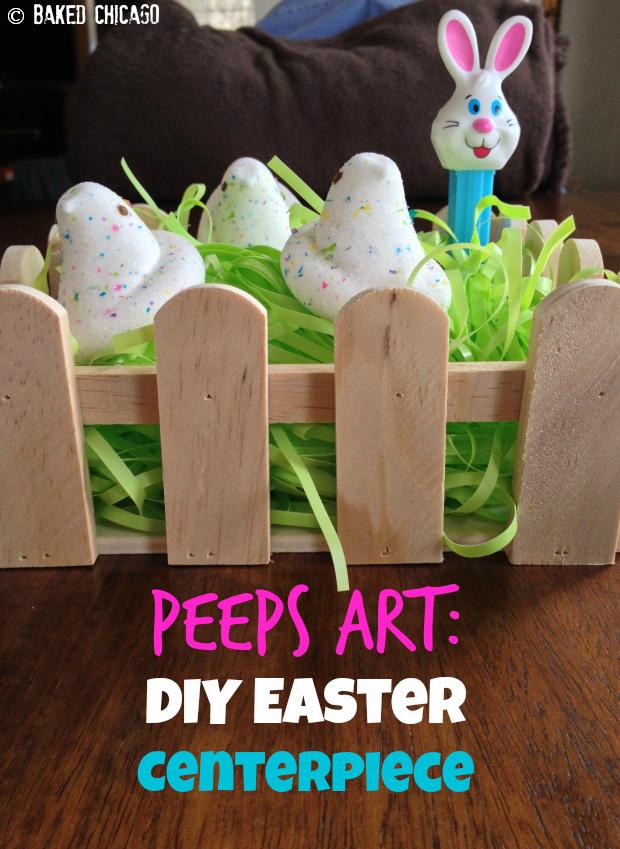 Peep Art - Easter Centerpiece_3