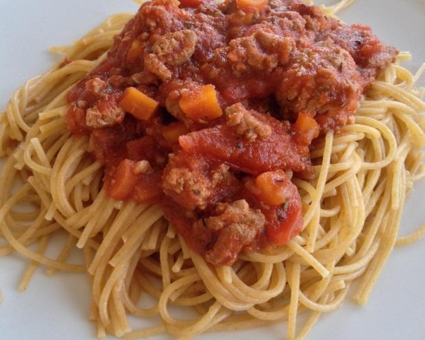 bolognese spaghetti sauce