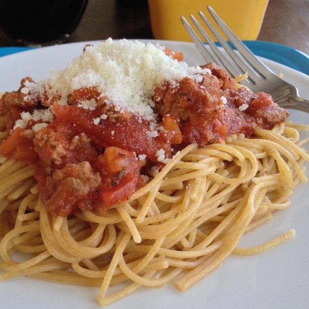 YOLO BOLO: Bolognese Spaghetti Sauce