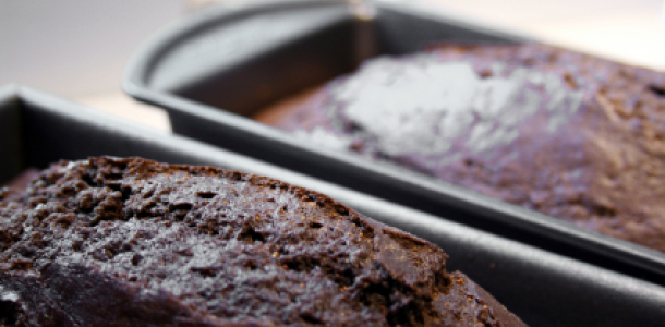 Baked Chicago's 10 Most Popular Chocolate Desserts Ever - dark chocolate chunk pumpkin bread