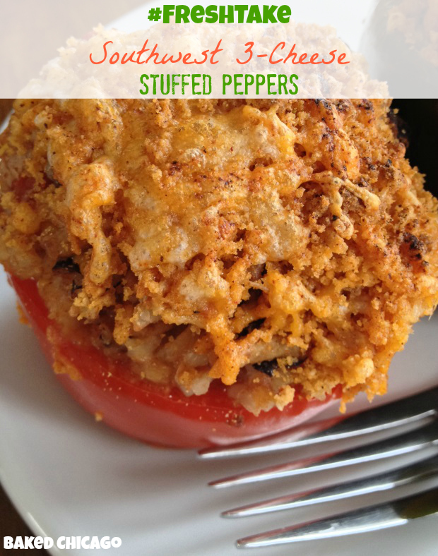 KRAFT #FreshTake #CollectiveBias Stuffed Peppers