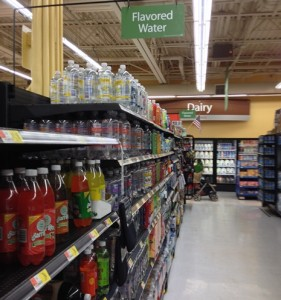 #AddSparkle #CollectiveBias #shop Walmart Canada Dry Sparkling Seltzer found in the Flavored Water aisle