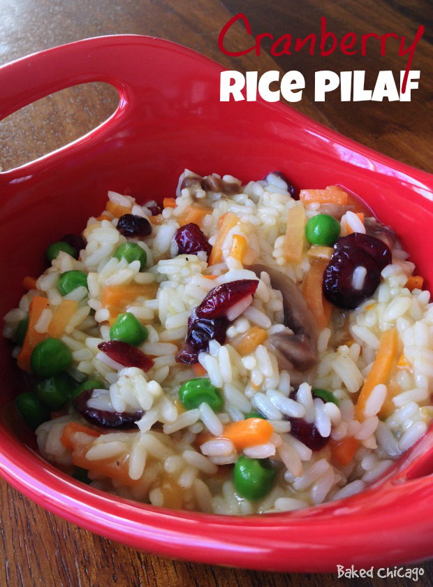 Minute® Ready to Serve Rice: Cranberry Rice Pilaf with Chicken Flavor Rice Mix wholesome snacking options
