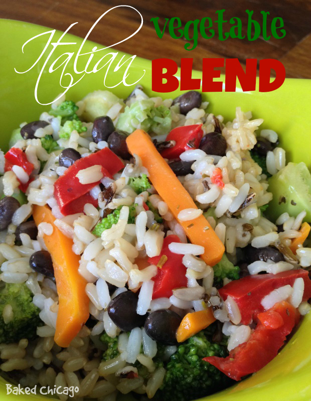 Minute® Ready to Serve Rice: Italian Vegetable Blend with Brown & Wild Rice wholesome snacking options