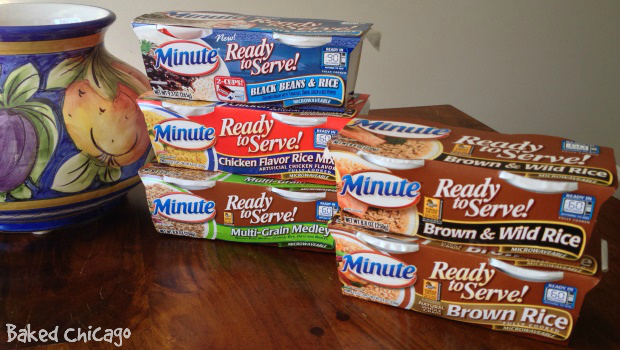 Minute® Ready to Serve Rice products wholesome snacking options