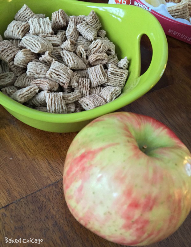 Quaker Squares with Honeycrisp Apple