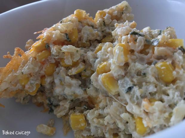rice corn casserole