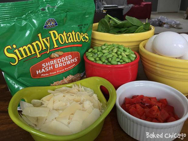 potato-ricotta frittata #SimplyPotatoes