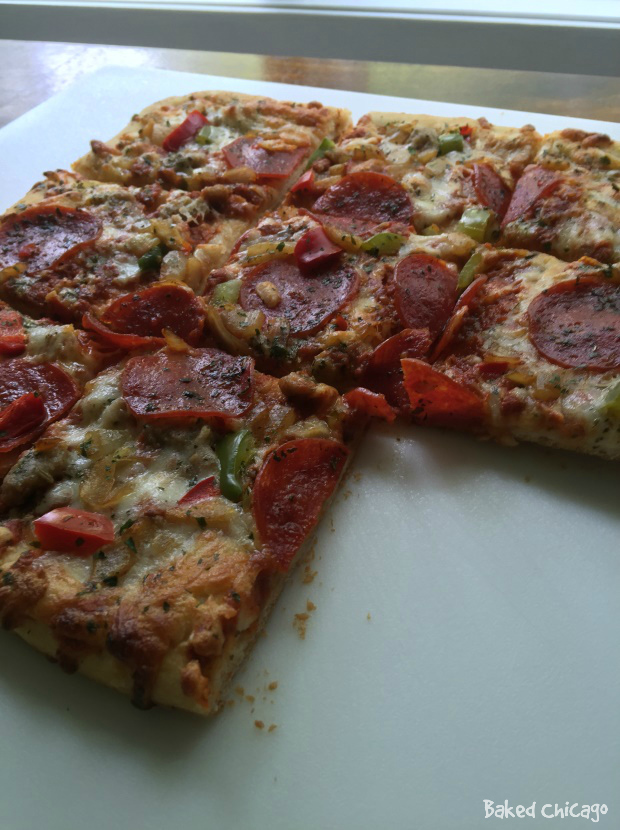 #DIGIORNO #YouBeTheJudge #CleverGirls #ad DiGiorno pizzeria thin supreme speciale pizza
