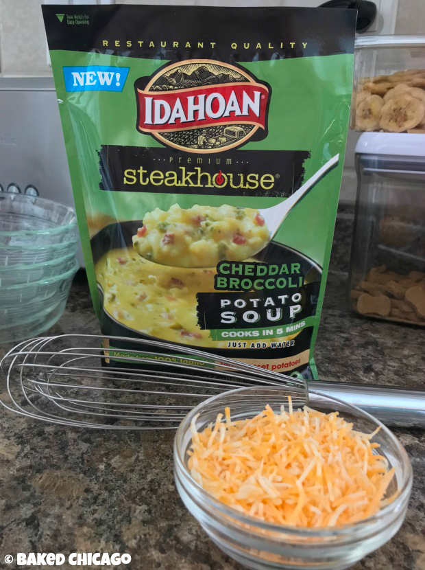 Idahoan Steakhouse Soups Cheddar Broccoli