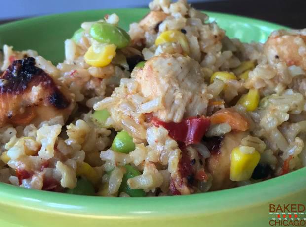 Buffalo Chicken Fried Rice