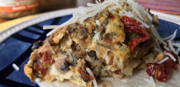 Rustic Tuscan Breakfast Tacos