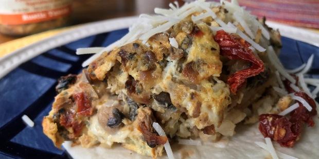 BLENDABELLA Rustic Tuscan Breakfast Tacos